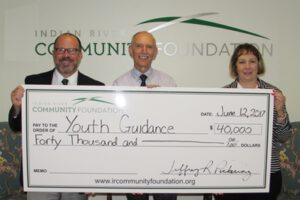 Indian River Community Foundation Gives $40,000 to Youth Guidance