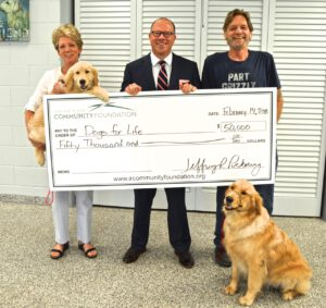 Community Foundation Awards $50,000 Grants to Dogs for Life, Humane Society