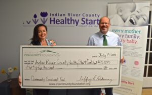 Check Presentation: Indian River County Healthy Start Coalition