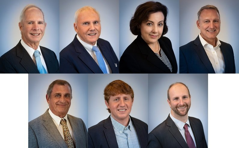 New Board Members: Dale Jacobs, Michael McManus, Beth Moulton, Matthew Rundels, Larry Salustro, Louis Schacht, William Schlitt .
