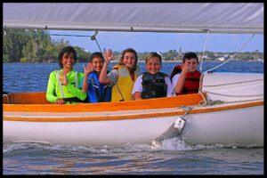 Gifford Middle School Dolphin Squadron of the Youth Sailing Foundation.