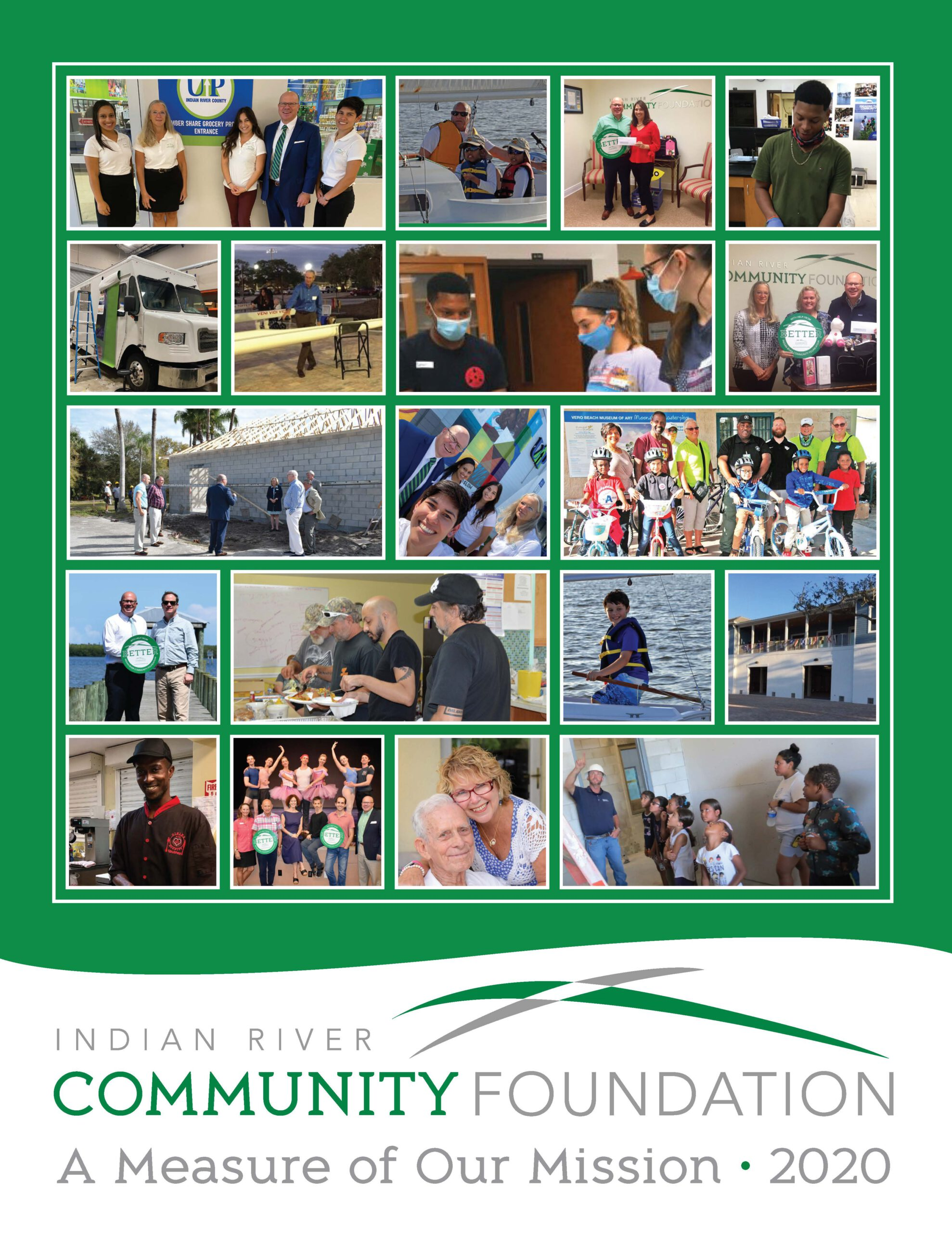 Cover image of IRCF Annual Report 2020